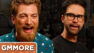 Main Channel Video: http://bit.ly/PepperPrank  Watch the previous episode: http://bit.ly/GMMTheNewDaySUBSCRIBE to Good Mythical MORE: http://bit.ly/2b1JfhQFollow Rhett & Link:Facebook: http://facebook.com/rhettandlinkTwitter: http://twitter.com/rhettandlinkTumblr: http://rhettandlink.tumblr.comInstagram: http://instagram.com/rhettandlinkOther Rhett & Link Channels:Main Channel: https://youtube.com/rhettandlinkGood Mythical Morning: https://youtube.com/user/rhettandlink2Rhett & Link EXTRAS: https://youtube.com/user/rhettandlink4GMM Merch: http://bit.ly/RhettLinkStoreListen to our FREE podcast, Ear Biscuits:Apply Podcasts: http://apple.co/29PTWTMSpotify: http://spoti.fi/2oIaAwpArt19: https://art19.com/shows/ear-biscuitsJOIN the RhettandLinKommunity: http://bit.ly/rlkommunityMail us stuff to our P.O. Box: http://rhettandlink.com/contactSubmit a Wheel of Mythicality intro video: http://bit.ly/GMMWheelIntroCredits:Executive Producer: Stevie Wynne LevineWriter/Producer: Edward Coleman Writer/Producer: Lizzie BassettWriter/Producer: Kevin KostelnikWriter/Producer: Micah GordonWriter/Producer: Ellie McElvainAssociate Producer: Chase HiltTechnical Director/Graphics/Editor: Morgan LockeEditor: Casey NimmerAdditional Graphics/Editing: Matthew DwyerArt Director: Colin J. Morris Production Assistant: Saagar Shaikh Content Manager: Becca CanoteSet Construction/Dresser: Cassie CobbIntro Motion Graphics: Digital Twigs http://www.digitaltwigs.comIntro Music: Pomplamoose http://www.youtube.com/pomplamoosemusicOutro Music: Pomplamoose http://www.youtube.com/pomplamoosemusicWheel of Mythicality Music: http://www.royaltyfreemusiclibrary.com/All Supplemental Music: Opus 1 Music  http://opus1.sourceaudio.com/ Microphone: 'The Mouse' by Blue Microphones http://www.bluemic.com/mouse/