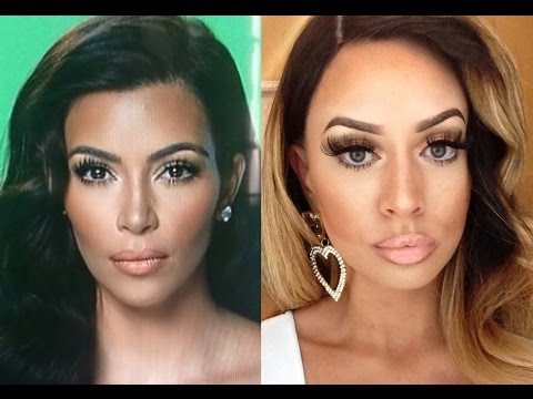 kim - Hey loves! I fell in love with this Kim Kardashian makeup look done by Etienne Ortega! Hope you enjoy :) I'm wearing Valencia Rose Hair in my FAV origin, Peruvian straight! Shop here while...