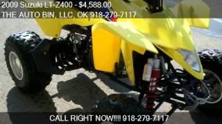 8. 2009 Suzuki LT-Z400 Quad Sport for sale in Broken Arrow, OK