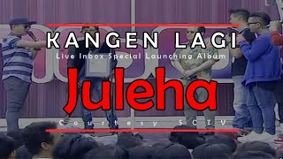 Video KANGEN LAGI [Juleha] Live Inbox Special Launching Album (30-03-2015) Courtesy SCTV MP3, 3GP, MP4, WEBM, AVI, FLV Juni 2018