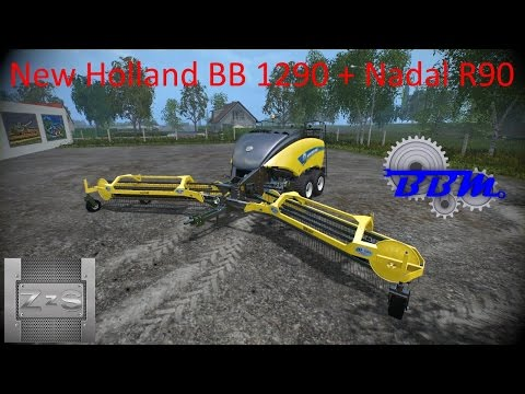 New Holland BB1290 + Nadal R90 v1.0