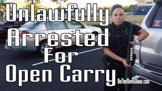 Video Open Carry: Veteran Unlawfully Disarmed, Detained & Arrested | OnTheMoveShow MP3, 3GP, MP4, WEBM, AVI, FLV Oktober 2018