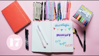 Video The Best Pens to Journal With | Plan With Me MP3, 3GP, MP4, WEBM, AVI, FLV Juli 2018