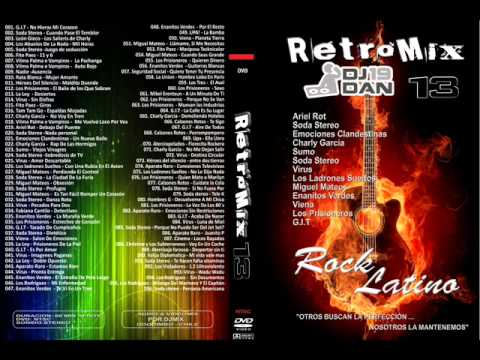 RetroMix 13 (Rock Latino)