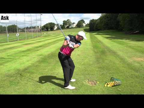 Centred Golf Turn and Extend For Better Shots
