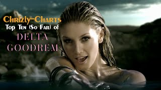 Chrizly-Charts TOP 10: Best Of Delta Goodrem (So Far)
