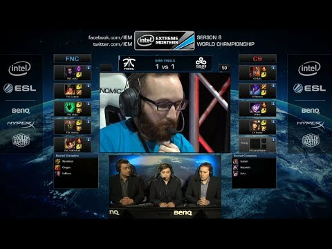 lol - IEM Season 8 WC Katowice 2014 playlist: http://bit.ly/1nWExmz Intel Extreme Masters Season VIII World Championship - Katowice 2014 Pro League of Legends Tour...