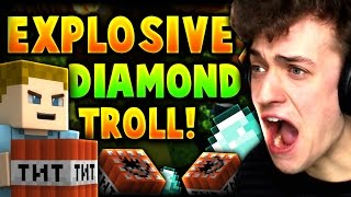 ►Easy Troll - Vanilla Minecraft◄ YOU GUYS REALLY LOVED THE OTHER VIDEO I DID! SO I DECIDED TO DO ANOTHER TUTORIAL :D HIT THAT LIKE BUTTON IF YOU WANT TO SEE ...