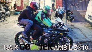 Video NAIK GO-OJEK AMBIL KAWASAKI ZX10 | LAYZ MOTOR MOGE MP3, 3GP, MP4, WEBM, AVI, FLV Februari 2018