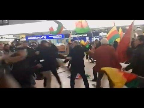 Proteste in Hannover: Kurden- und Türkei-Anhänger  ...