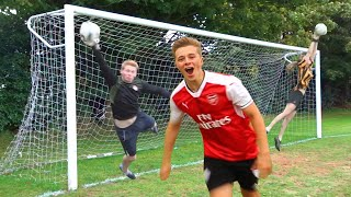 Video FOOTBALL CHALLENGES WITH THE WORLD'S BEST GOALKEEPERS MP3, 3GP, MP4, WEBM, AVI, FLV Juni 2019