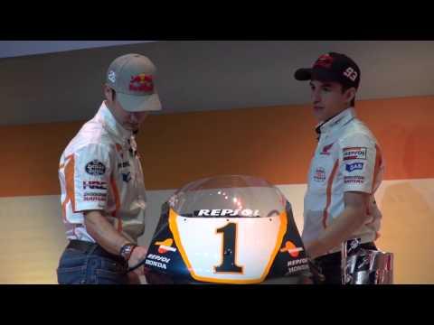 Márquez y Pedrosa alucinan