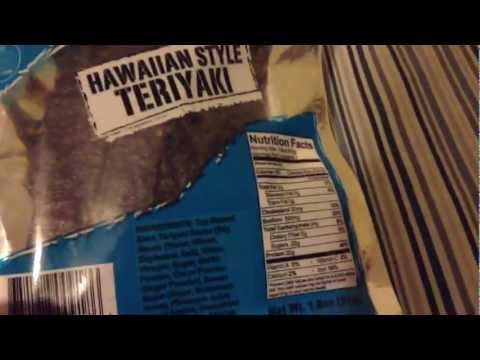 "( Damn Good Beef Jerky ""Hawaiian Style Teriyaki"" )"