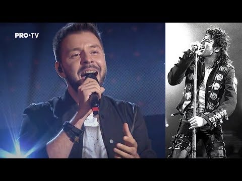 Bogdan Ioan SING TWICE Earth Song - Michael Jackson ( Auditions The Voice Of Romania 2018 )