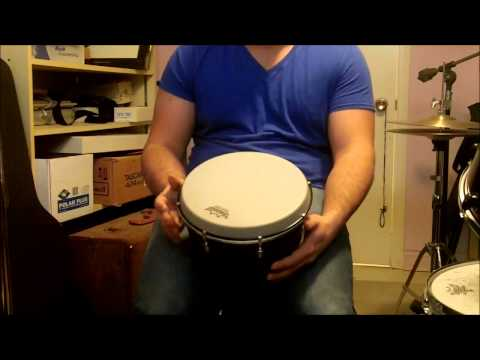 Techniques For Playing An African Drum