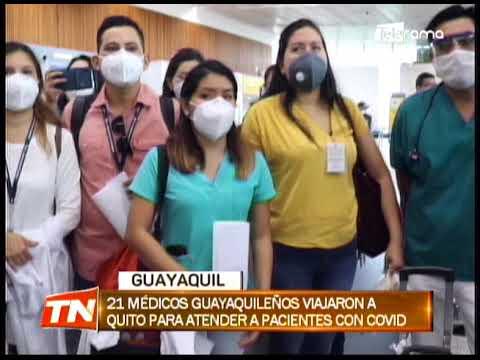 Municipio envía ayuda médica a Quito por la difícil situación sanitaria