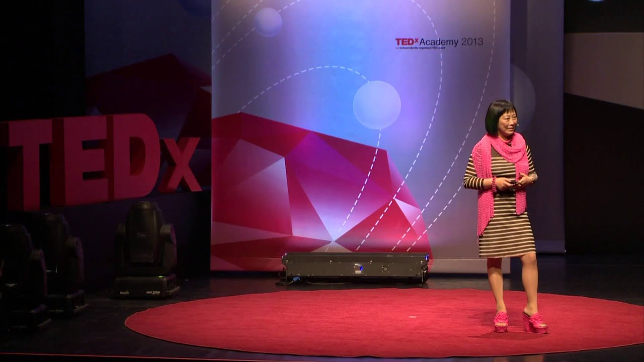 Art of science and 3D printing: Ping Fu at TEDxAcademy