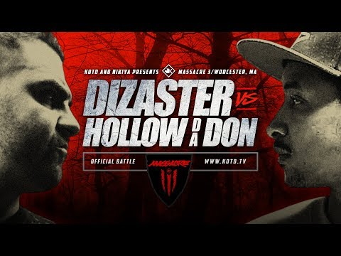KOTD: Rap Battle – Disaster vs Hollow Da Don | #MASS3