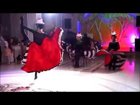 Видео танцевальное шоу Crazy Samba - Канкан (cancan)