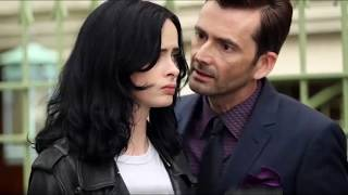 some photos of David Tennant and Krysten Ritter in New York City these days.