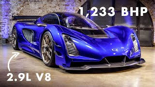 Czinger 21C: In-Depth First Look At The 3D-Printed Hybrid Hypercar   Carfection 4K by Carfection