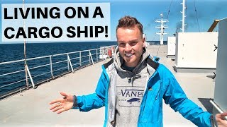 Video LIVING ON A CARGO SHIP -  Caspian Sea Ferry MP3, 3GP, MP4, WEBM, AVI, FLV Desember 2018