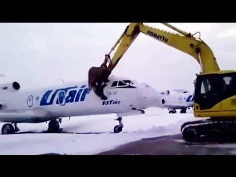 VIDEO: Airport Worker Destroys Jet After Getting Fired