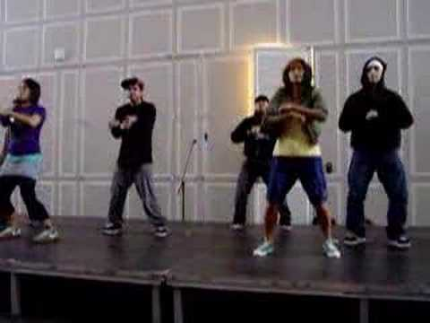 Репетиция команды Boogie Bots - FIND Conference 2008