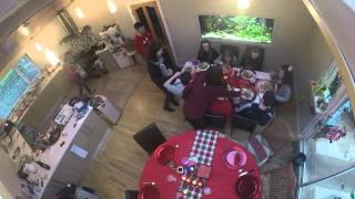 Time Lapse Christmas Dinner