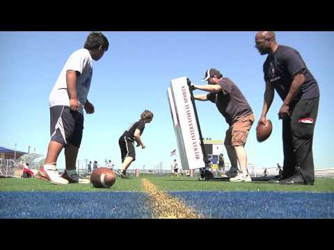 The Hitman Blocking Sled Debut