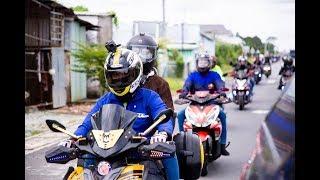 Trong Thế Giới Xe   Dàn xe Yamaha NVX độ độc đáo chinh phục miền Tây   Caravan NVX Saigon Club 2018