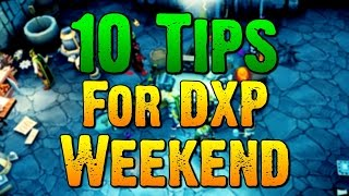Runescape - 10 Tips For Double XP Weekend!