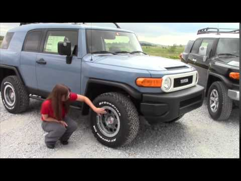 2014 Toyota FJ Cruiser Review for Matt from Jordyn at Handy Toyota