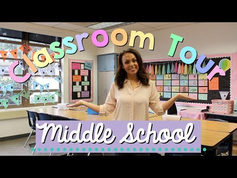 CLASSROOM TOUR | Middle School