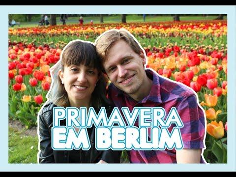Primavera em Berlim - Festival das Tulipas no Britzer Garten - Cerejeiras do Muro - Alemanizando