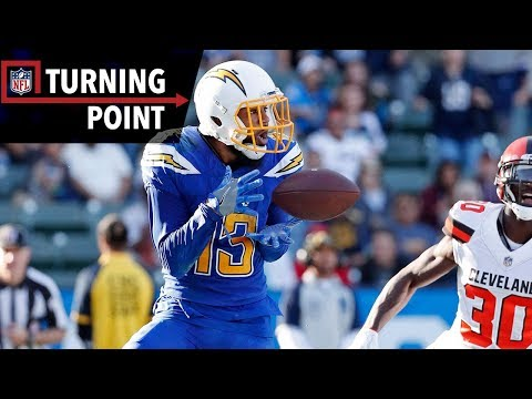 Video: Keenan Allen Could Not Be Stopped By the Browns Secondary (Week 13) | NFL Turning Point