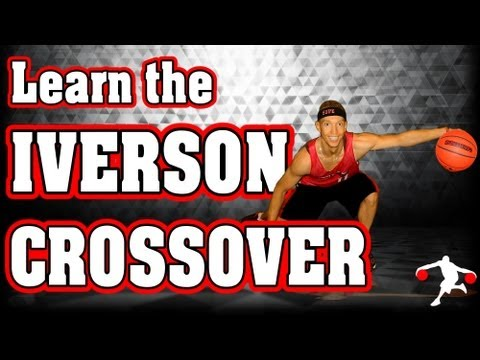Crossover - http://www.superhandles.com You are about to learn how to do one of the most exciting moves in the game of basketball: The Iverson Crossover. This move was m...