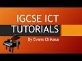 Download Video IGCSE ICT October November 2016 Paper 3 Web Authoring Part 1
