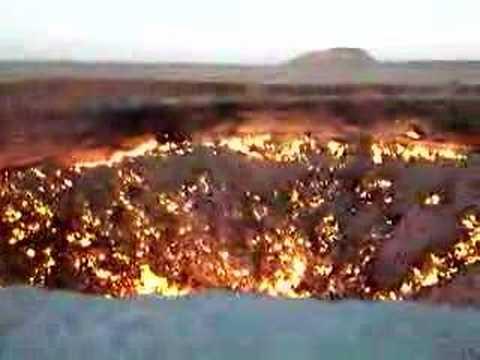 LUBANG NERAKA ? Turkmenistan-SOLEH