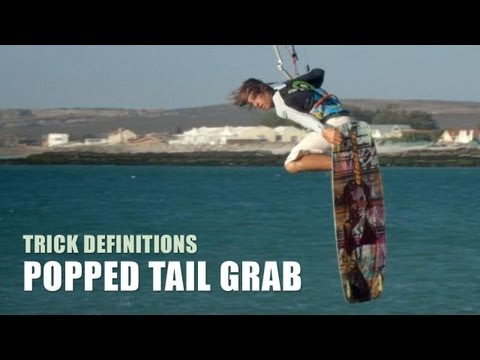 Popped Tail Grab – Kitesurfing Trick Technique