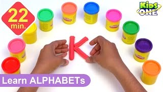 Video Play and Learn ALPHABETS with Play Doh for Children | Play-doh ABC for Kids MP3, 3GP, MP4, WEBM, AVI, FLV Oktober 2017