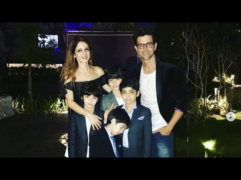 Video Hrithik Roshan With Ex Wife Sussanne Khan And Kids At Her New Store Launch download in MP3, 3GP, MP4, WEBM, AVI, FLV January 2017