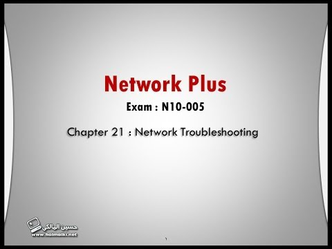 Network-Plus (Ch.21): Network Troubleshooting