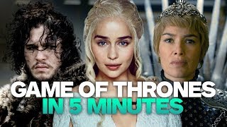 Get a primer in the magic and machinations of Game of Thrones, just in time for its Season 7 premiere. Game of Thrones: Season...
