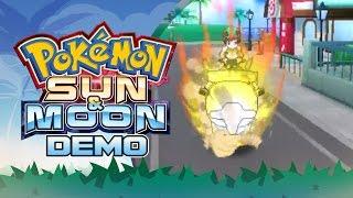 Pokemon Sun & Moon: Special Demo Edition! Part 2 RIDING POKEMON by PokeaimMD