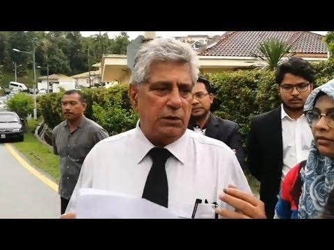 Najib upset over long police search, says lawyer