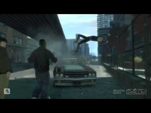 GTA IV - Unlucky People (FUNNY!) 720p