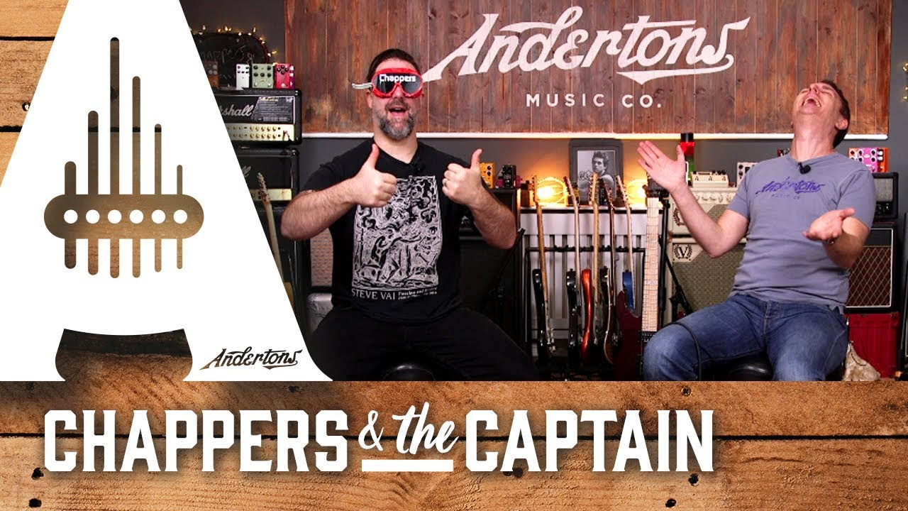 The Chappers Pointy Guitar Blindfold Challenge!