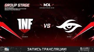 Infamous vs Secret, MDL Changsha Major, game 2 [Lum1Sit]