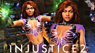 Injustice 2 - STARFIRE GAMEPLAY TRAILER! The Official Gameplay Trailer for Starfire in Injustice 2 has been revealed! Enjoy it in all its glory. Starfire is the third DLC Character joining the Injustice 2 Roster. Pay close attention to the trailer, you might see a brand new Premier Skin in Injustice 2.★:Follow me on Twitter: https://twitter.com/Caboose_XBL★:Like me on Facebook: https://www.facebook.com/CabooseXBL★:Follow me on Instagram: http://instagram.com/caboose_xbl★:Intro Created By: https://www.youtube.com/user/COMIXINEMA and https://www.youtube.com/user/nighthawkjonzey2Like, Favourite, Comment and Subscribe!Build and power up the ultimate version of your favorite DC legends in INJUSTICE 2. With a massive selection of DC Super Heroes and Super-Villains, INJUSTICE 2 allows you to personalize iconic DC characters with unique and powerful gear. Take control over how your favorite characters look, how they fight, and how they develop across a huge variety of game modes. This is your Legend. Your Journey. Your Injustice.